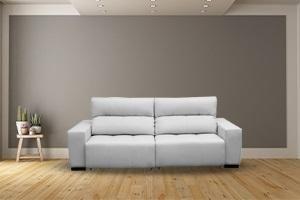 Sofá retrátil: modelo moderno e utilitário para a sua casa.