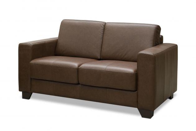 Sofá de couro - Bello de 1,55 m com dois lugares