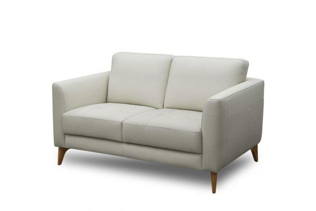 Sofá de couro - Delicato de 1,50 m com dois lugares