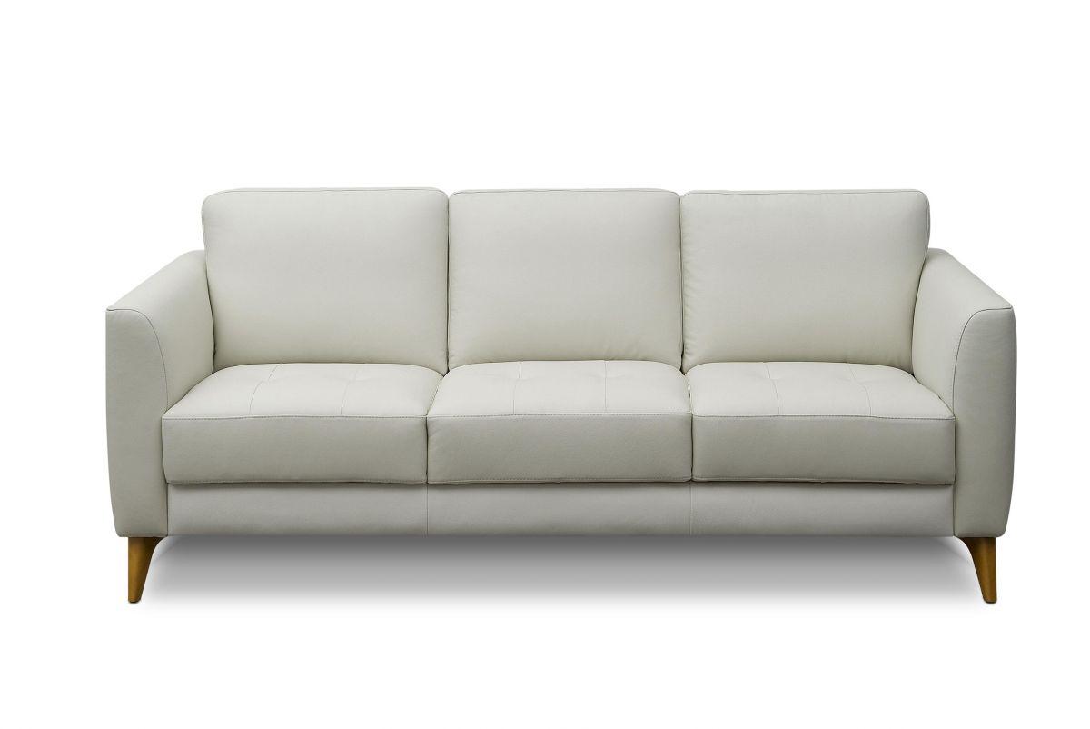 Sofá de couro - Delicato de 2,00 m com três lugares