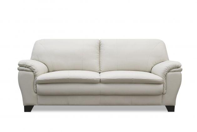 Sofá de couro - Elegance de 2,10 m com três lugares